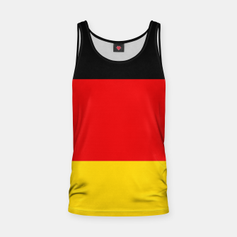 Thumbnail image of  Basic Germany Deutschland Flag Tank Top, Live Heroes
