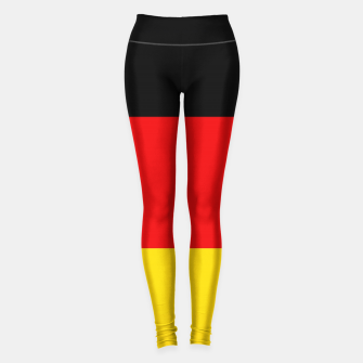 Imagen en miniatura de  Basic Germany Deutschland Flag Leggings, Live Heroes