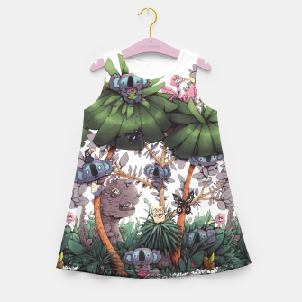 Miniature de image de The Kiwis and Koalas Girl's summer dress, Live Heroes