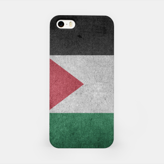 Thumbnail image of Vintage Grunge Palestine Flag iPhone Case, Live Heroes