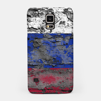 Thumbnail image of Grunge Vintage Ripped Russia Flag Samsung Case, Live Heroes