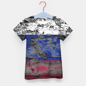Thumbnail image of Grunge Vintage Ripped Russia Flag Kid's t-shirt, Live Heroes