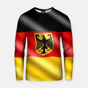 Thumbnail image of Waving Germany Flag Cotton sweater, Live Heroes