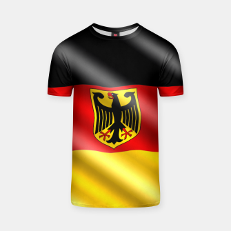 Thumbnail image of Waving Germany Flag T-shirt, Live Heroes
