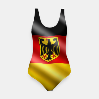 Thumbnail image of Waving Germany Flag Swimsuit, Live Heroes