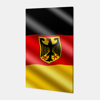 Thumbnail image of Waving Germany Flag Canvas, Live Heroes