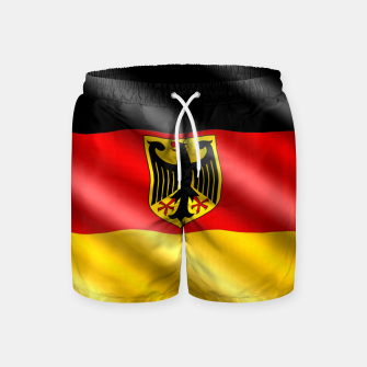 Thumbnail image of Waving Germany Flag Swim Shorts, Live Heroes