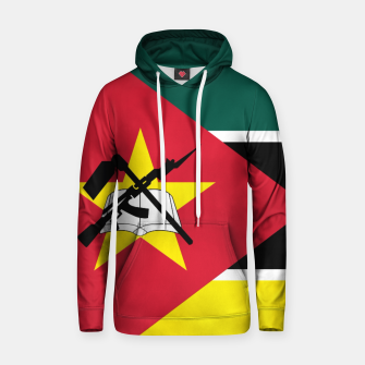 Thumbnail image of Basic Mozambique Flag Cotton hoodie, Live Heroes