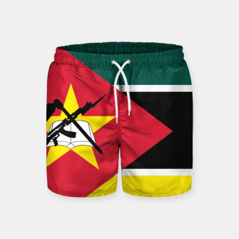 Thumbnail image of Basic Mozambique Flag Swim Shorts, Live Heroes