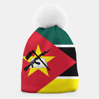 Thumbnail image of Basic Mozambique Flag Beanie, Live Heroes