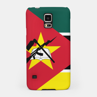 Thumbnail image of Basic Mozambique Flag Samsung Case, Live Heroes