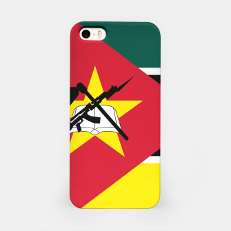 Thumbnail image of Basic Mozambique Flag iPhone Case, Live Heroes
