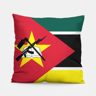 Thumbnail image of Basic Mozambique Flag Pillow, Live Heroes