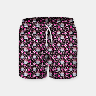 Miniaturka Santa Claus and candies Swim Shorts, Live Heroes
