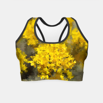 Imagen en miniatura de Yellow flowers Crop Top, Live Heroes