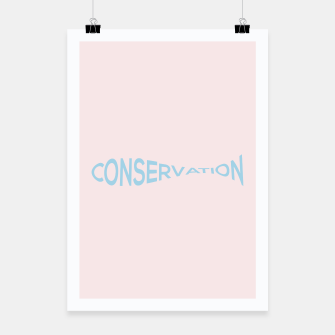 Miniatur Conservation Poster, Live Heroes
