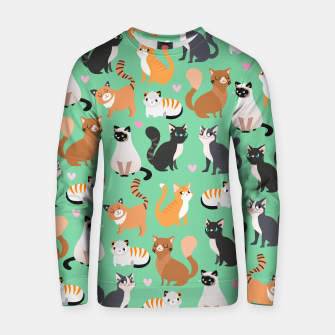 Thumbnail image of Cats Cats Cats Cotton sweater, Live Heroes