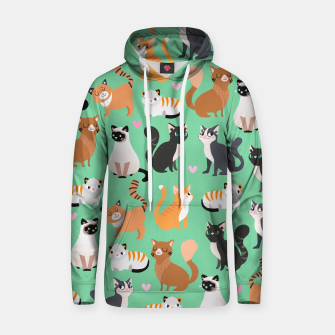 Miniatur Cats Cats Cats Cotton hoodie, Live Heroes