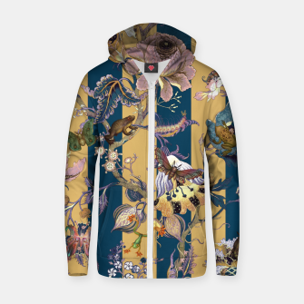 Thumbnail image of Frogs and Bugs Cotton zip up hoodie, Live Heroes