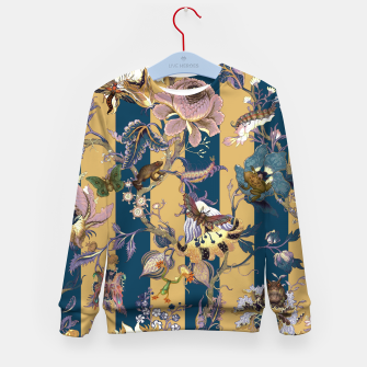 Thumbnail image of Frogs and Bugs Kid's sweater, Live Heroes