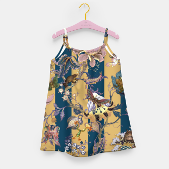 Thumbnail image of Frogs and Bugs Girl's dress, Live Heroes