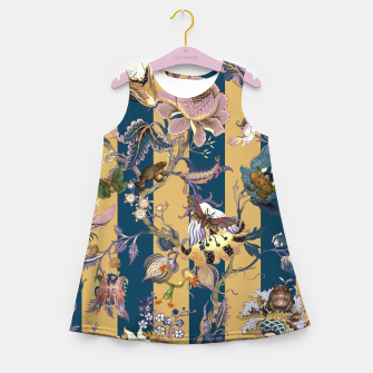 Thumbnail image of Frogs and Bugs Girl's summer dress, Live Heroes
