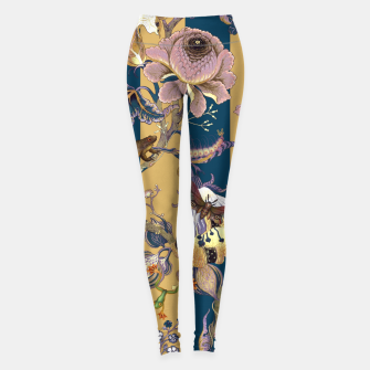 Thumbnail image of Frogs and Bugs Leggings, Live Heroes