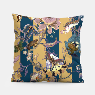 Thumbnail image of Frogs and Bugs Pillow, Live Heroes