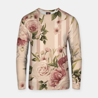 Thumbnail image of Flowers and Stripes Two Cotton sweater, Live Heroes