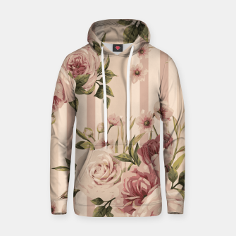 Thumbnail image of Flowers and Stripes Two Cotton hoodie, Live Heroes