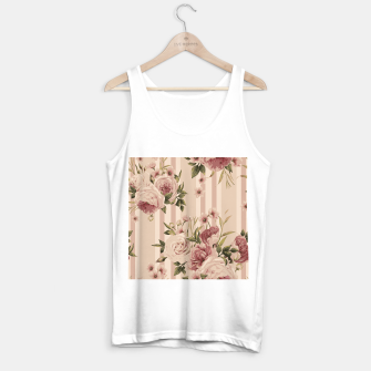 Thumbnail image of Flowers and Stripes Two Tank Top regular, Live Heroes