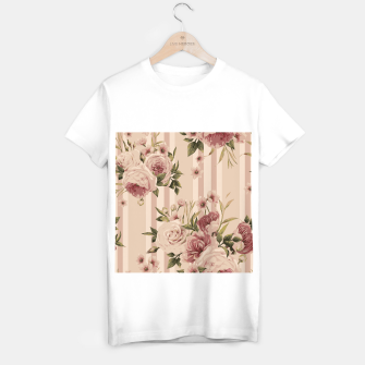 Thumbnail image of Flowers and Stripes Two T-shirt regular, Live Heroes
