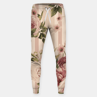 Thumbnail image of Flowers and Stripes Two Cotton sweatpants, Live Heroes