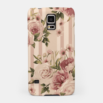 Thumbnail image of Flowers and Stripes Two Samsung Case, Live Heroes