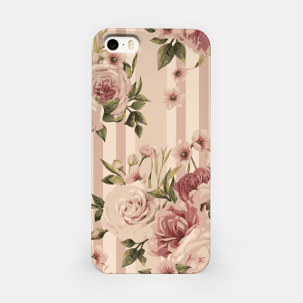 Thumbnail image of Flowers and Stripes Two iPhone Case, Live Heroes