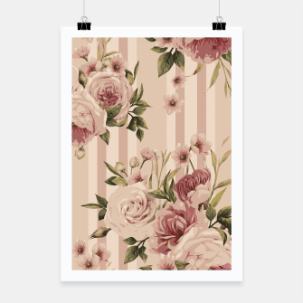 Thumbnail image of Flowers and Stripes Two Poster, Live Heroes