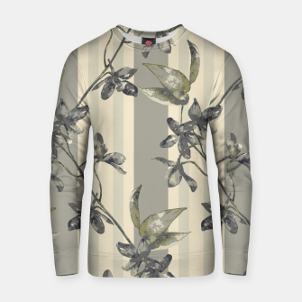 Thumbnail image of Flowers and Stripes One Cotton sweater, Live Heroes