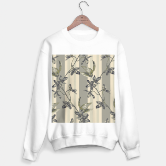 Thumbnail image of Flowers and Stripes One Sweater regular, Live Heroes