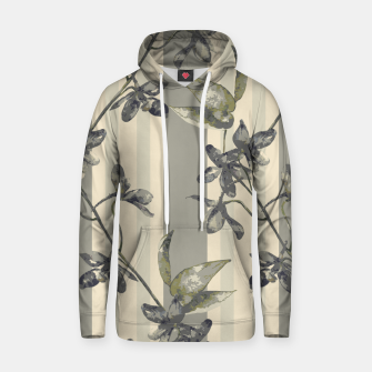 Thumbnail image of Flowers and Stripes One Cotton hoodie, Live Heroes