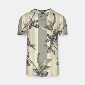 Thumbnail image of Flowers and Stripes One T-shirt, Live Heroes