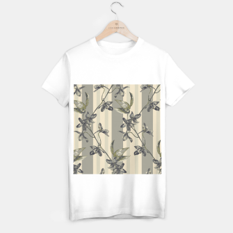 Thumbnail image of Flowers and Stripes One T-shirt regular, Live Heroes