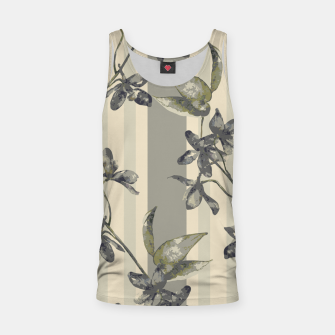 Miniatur Flowers and Stripes One Tank Top, Live Heroes