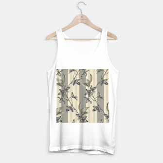 Thumbnail image of Flowers and Stripes One Tank Top regular, Live Heroes