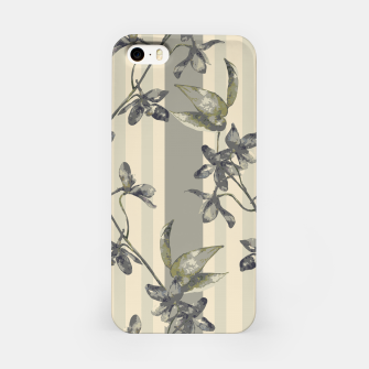 Thumbnail image of Flowers and Stripes One iPhone Case, Live Heroes