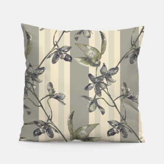 Thumbnail image of Flowers and Stripes One Pillow, Live Heroes
