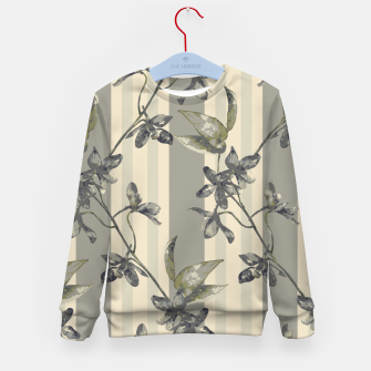 Thumbnail image of Flowers and Stripes One Kid's sweater, Live Heroes