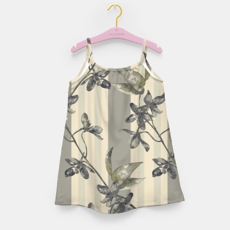 Thumbnail image of Flowers and Stripes One Girl's dress, Live Heroes