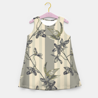 Thumbnail image of Flowers and Stripes One Girl's summer dress, Live Heroes