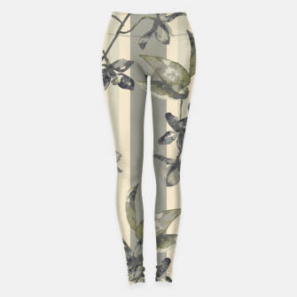 Thumbnail image of Flowers and Stripes One Leggings, Live Heroes