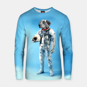 Thumbnail image of Astronaut-Dalmatian Cotton sweater, Live Heroes